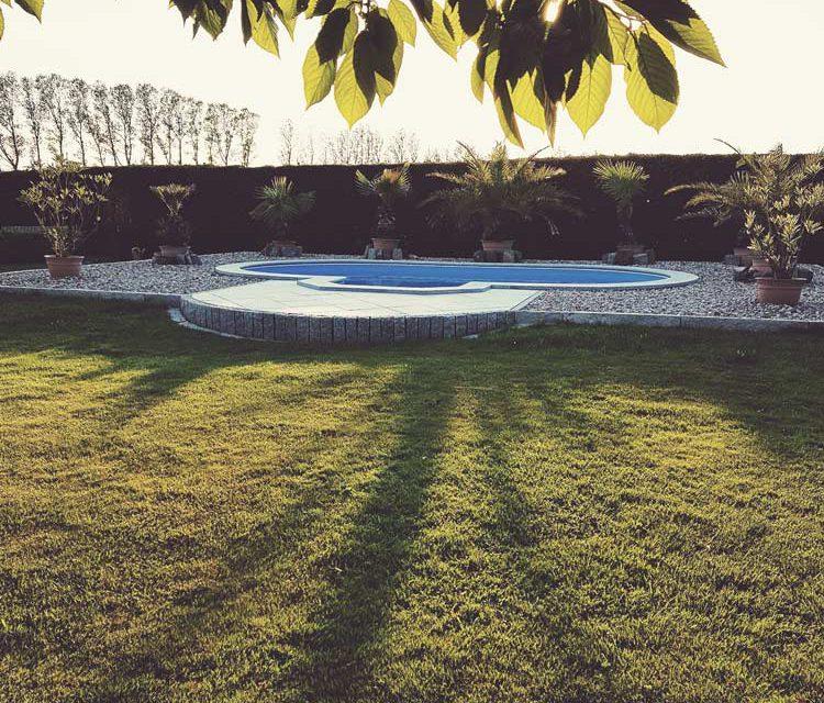 Pool Landschaft in Deutschland
