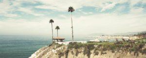 Hotelblick in Pismo Beach Kalifornien