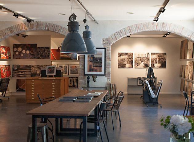 der Showroom von David & David Studios