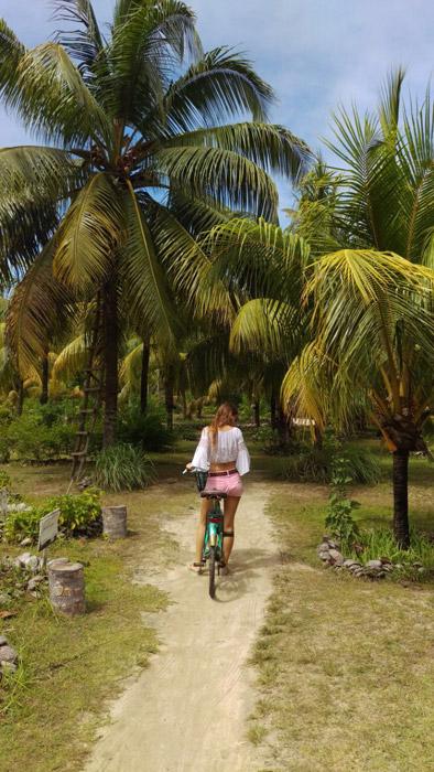 Radtour auf den Seychellen
