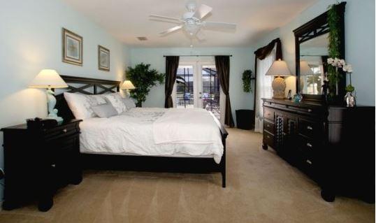 Schlafzimmer im Ferienhaus in Florida