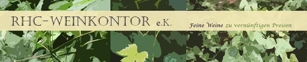 Banner vom Wein online Shop RHC-Weinkontor